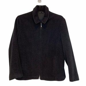 Robert Barakett Mens Coat Angora wool Large long